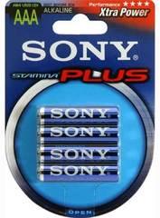 Батарейки Sony Stamina Plus LR03, AAA (2/40) BL