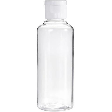 Бутылочка с крышкой  100 мл  пластик