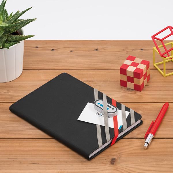 Plot Notebook, blue