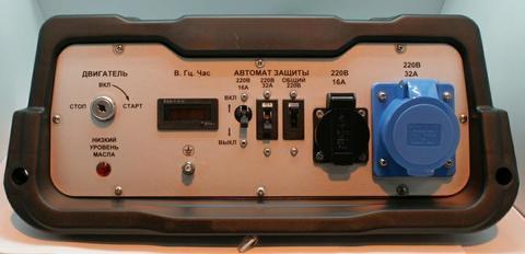 Панель контрольная DDE DPG10551E (52000-G7AA-34H9)