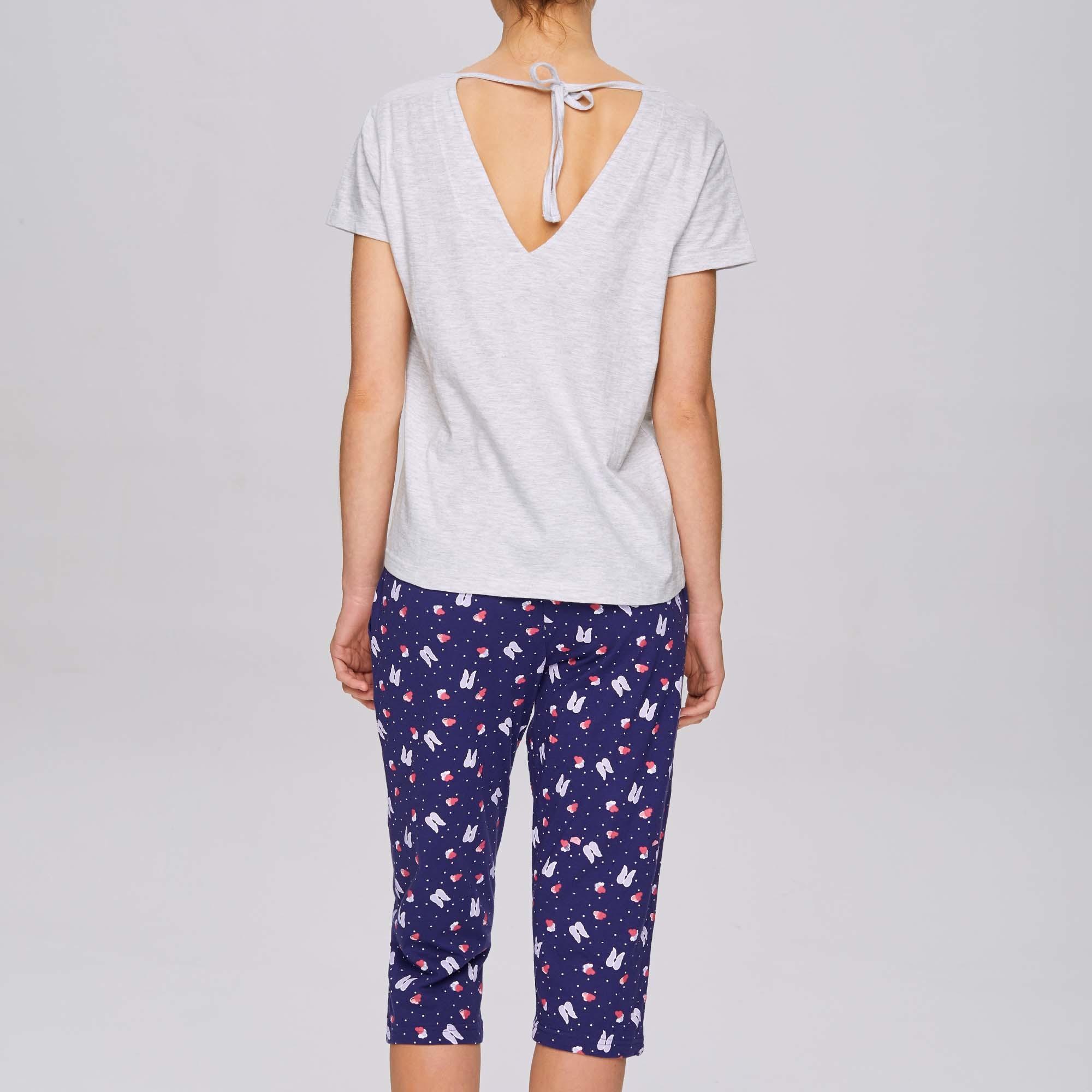Пижама женская с короткими брюками NLP-465