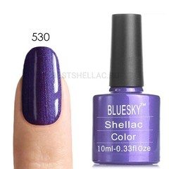 Гель-лак Bluesky № 40530/80530 Purple Purple, 10 мл