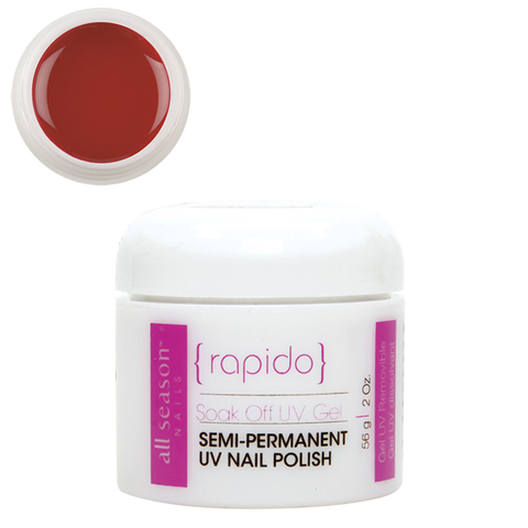 Цветной Soak of gel Rapido Red 56,8 мл.