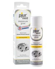 Pjur med  PREMIUM glide 100 мл - силиконовая смазка для чувствительной кожи