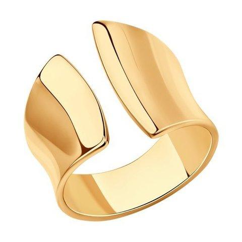 93010852 - Разъемное Кольцо из золочёного серебра
