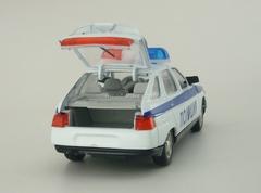 VAZ-2112 Lada Police Agat Mossar Tantal 1:43