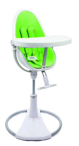 Стульчик Bloom Fresco Chrome White Gala Green