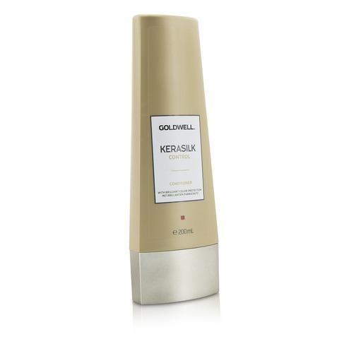Кондиционер для непослушных, пушащихся волос, Goldwell Kerasilk Control Conditioner, 200 мл.