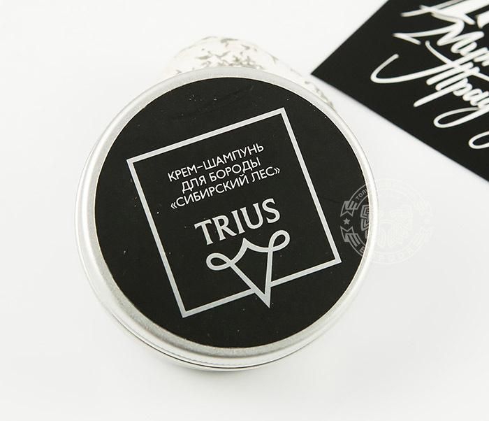 RAZ243-1 Мыло шампунь для бороды TRIUS «Сибирский Лес» (50 мл)