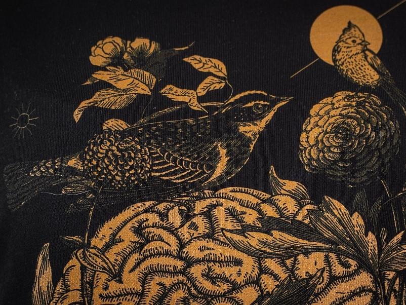 Mindful birdwatcher / футболка