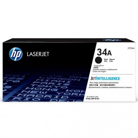 Фотобарабан HP CF234A 34A черный