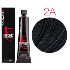 Goldwell Topchic 2A (иссиня-черный) - Cтойкая крем краска
