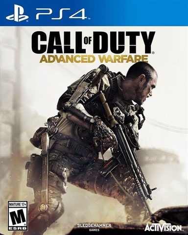 PS4 Call of Duty: Advanced Warfare (русская версия)