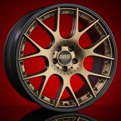 Диск колесный BBS CH-R II 11.5x22 5x130 ET50 CB71.6 satin bronze