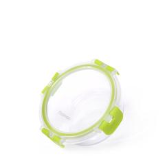 Контейнер с пластиковой крышкой 13х5см / 380мл (стекло)