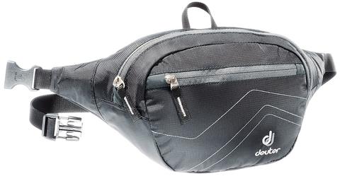 Картинка сумка поясная Deuter Belt II Black-anthracite