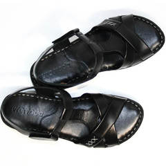 Сандали черные женские Evromoda 15 Black.