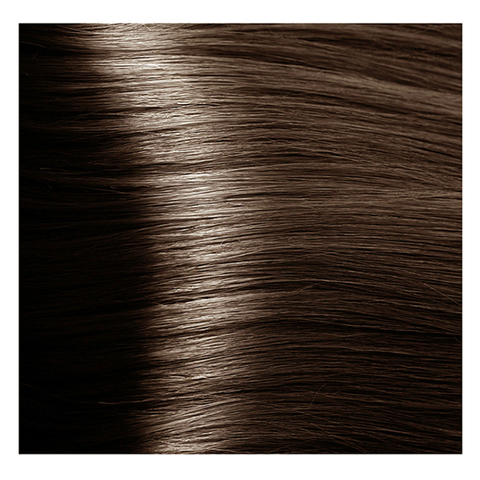 Крем краска для волос с гиалуроновой кислотой Kapous, 100 мл - HY 6.81 Темный блондин капучино-пепельный