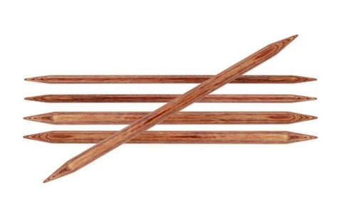 Спицы KnitPro Ginger чулочные 6,5 мм/15 см 31014
