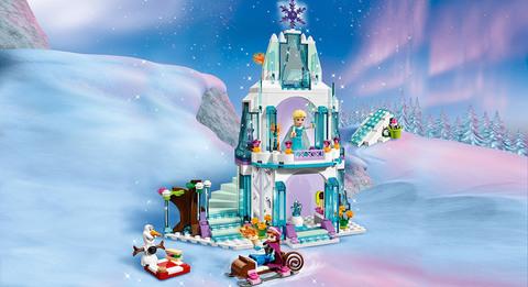 LEGO Disney Princess: Ледяной замок Эльзы 41062 — Elsa's Sparkling Ice Castle — Лего Принцессы Диснея