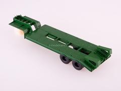 Semitrailer heavy carrier ChMZAP-5523 green 1:43 AutoHistory
