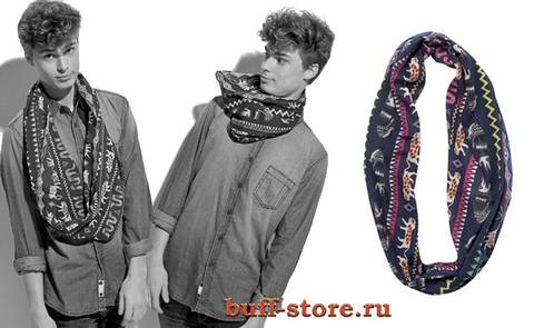 Шарф-снуд-хомут Buff Varsity Artists Animaux Riviera