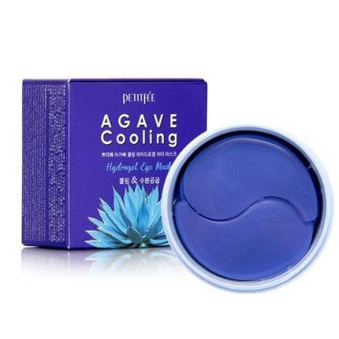 Патчи для глаз PETIFEE Agave Cooling Hydrogel Eye Mask 84g