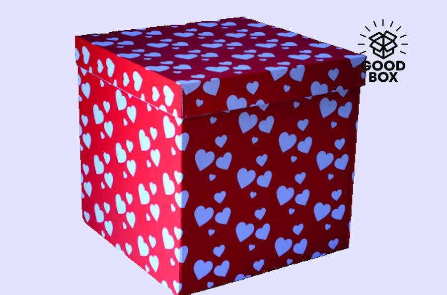 Коробка для шаров купить в Казахстане с доставкой