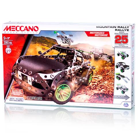 Меккано Набор Раллийная машина (25 моделей)