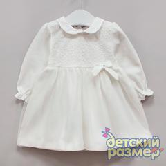 Платье (кружево, бантик)