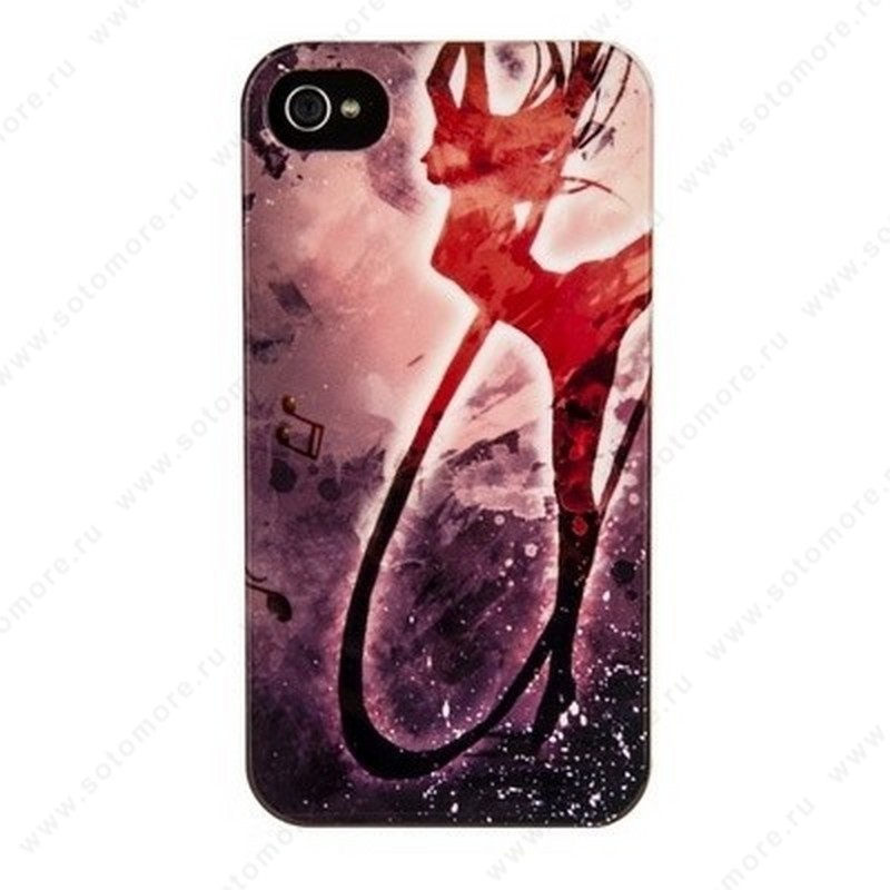 Накладка Fashion case для iPhone 4s/ 4 Вид 19