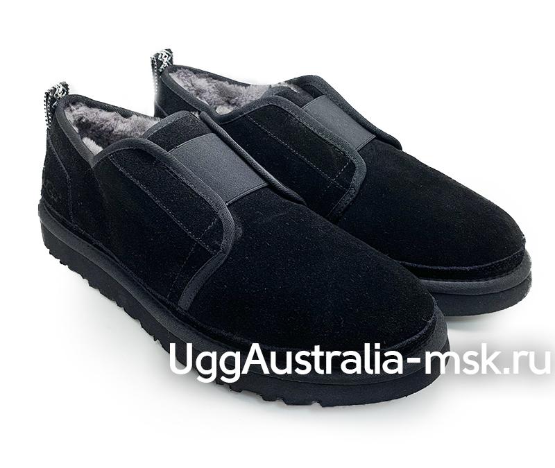 UGG  MENS SLIP ON FLEX MEN BLACK