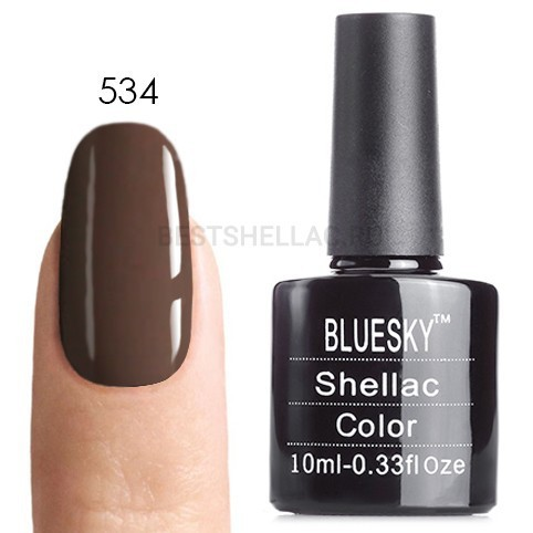 Bluesky Shellac 40501/80501 Гель-лак Bluesky № 40534/80534 Rubble, 10 мл 534.jpg