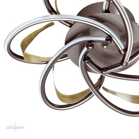 Люстра потолочная светодиодная 3772/57CL серии MIRANDA