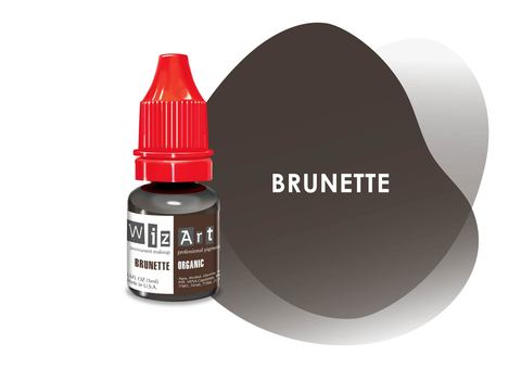 Brunette (брюнет) • Wizart Organic • пигмент для бровей