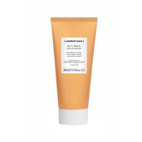 Крем солнцезащитный для лица и тела Comfort Zone Sun Soul Face & Body Cream SPF 50 200 мл