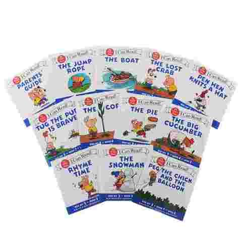 Я могу читать! I can read! Set 2 - комплект из 12 книг