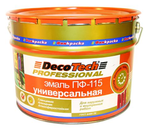 DecoTech/Декотек Эмаль ПФ-115