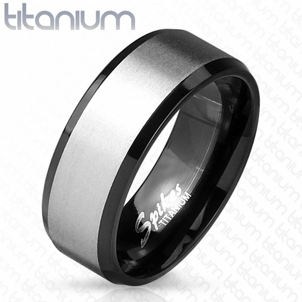 Мужское титановое кольцо SPIKES R-TM-3906