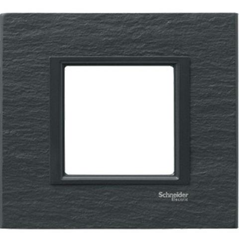 Рамка на 1 пост. Цвет Иберийский сланец. Schneider electric Unica Class. MGU68.002.7Z1