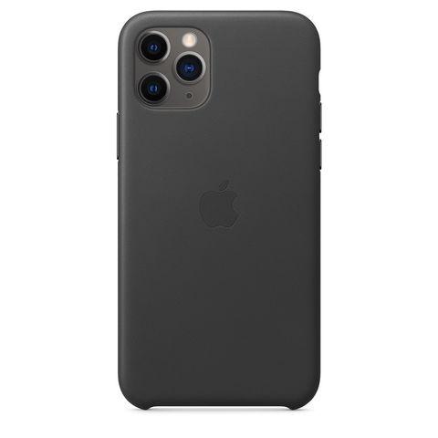 Чехол iPhone 11 Pro good Leather Case /black/