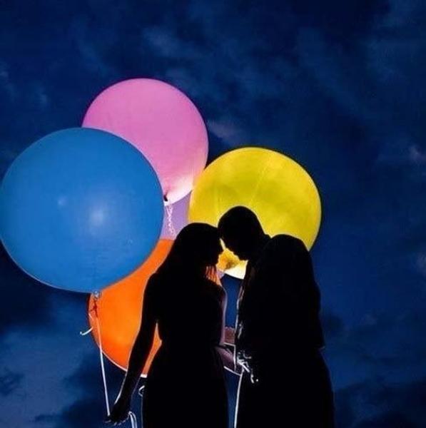 Светящиеся шары Большой светящийся шар 80 см с гелием full_906.jpg