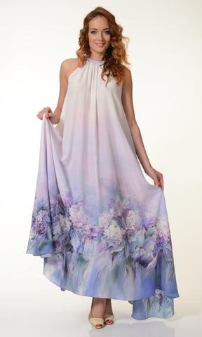 Платье Цветы гортензии