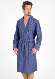 Мужской халат из тонкого хлопка B&B