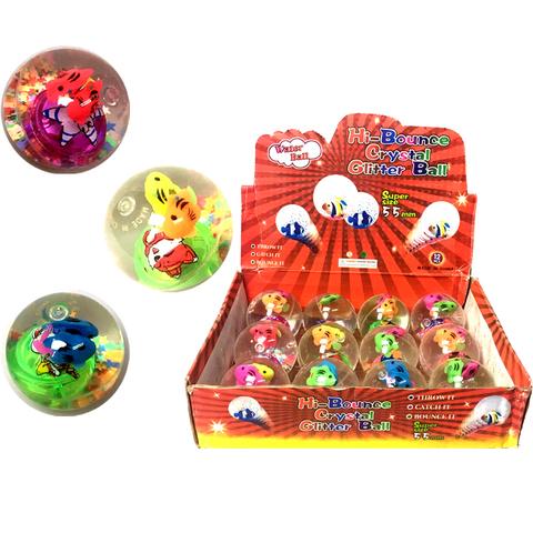 Мячики Прыгуны водные светящиеся 1кор*1бл*12шт