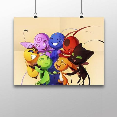 Плакат с Квами