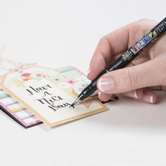 Ручка Tombow Fudenosuke GCD-112 (мягкий наконечник, черные чернила)