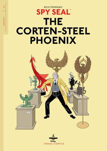 Spy Seal. The Corten-Steel Phoenix