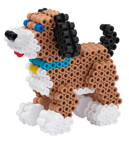 Hama Набор термомозаики Midi 2500 шт + 3D Собачки (3243)