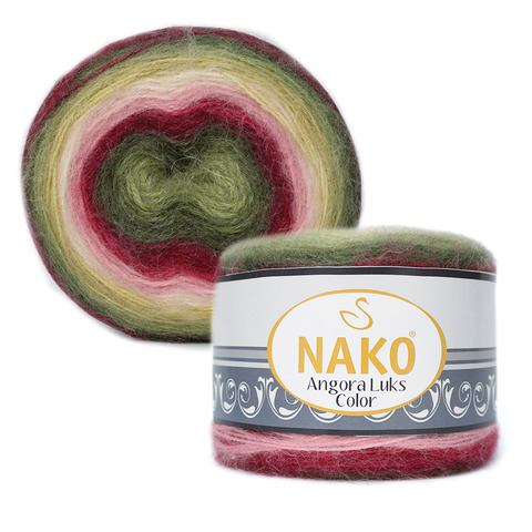 Nako Angora Luks Color